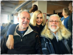 Werner and Lena Herzog with Joseph Bravo